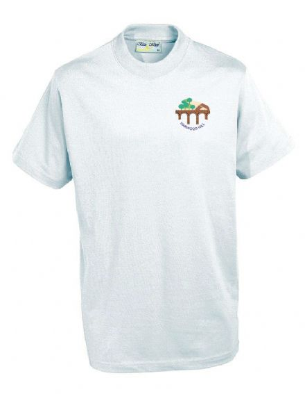 Harwood Hill Primary White PE T-Shirt